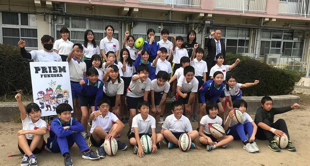 北九州市の東朽網小学校